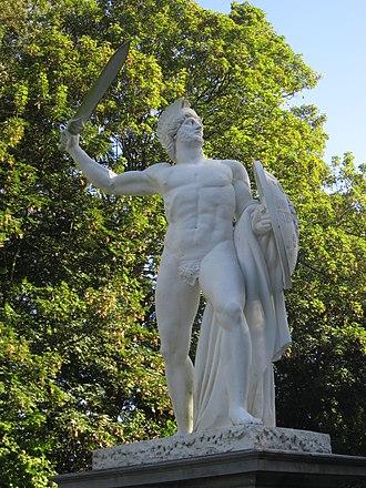 Gaius Julius Civilis - Statue of Civilis by Lodewijk Van Geel (1820-21)