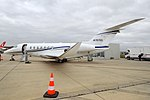 Textron Aviation, N707CL, Cessna 700 Citation Longitude (31378962178).jpg