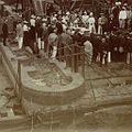 Théodore van Lelyveld - Eerste steenlegging sluis Saramacca-kanaal 1895-1898.jpg