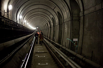 Thames Tunnel - Inside the tunnel, 2010