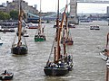 Thames barge parade - in the Pool 6739.JPG
