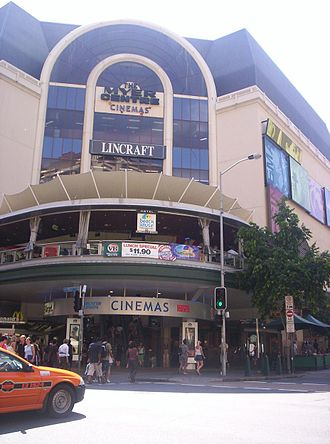 Albert Street, Brisbane - Image: The Myer Centre Brisbane