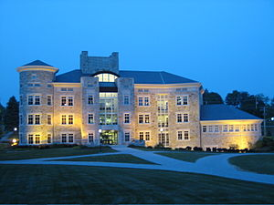 Washington & Jefferson College - Named after Howard J. Burnett, the Burnett Center was constructed in 1998.