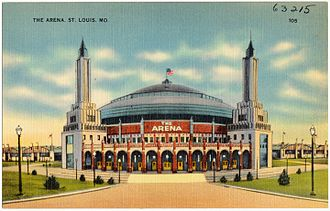 St. Louis Arena - Image: The Arena. St. Louis. Mo (63215)