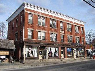 Bank Building (Uxbridge, Massachusetts) - The Bank Building