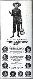 <i>The Barefoot Boy</i> (film) 1923 film by David Kirkland
