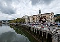 The Bilbao Estuary, with the City Hall in the background, Bilbao, Spain (PPL1-Corrected) julesvernex2.jpg