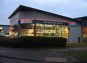 English: The Car Care People New occupants of ...