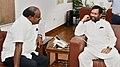 The Chief Minister of Karnataka, Shri H.D. Kumaraswamy meeting the Union Minister for Consumer Affairs, Food and Public Distribution, Shri Ram Vilas Paswan, in New Delhi on July 17, 2018 (1).JPG