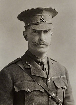 George Rous, 3rd Earl of Stradbroke - Image: The Earl of Stradbroke in 1915