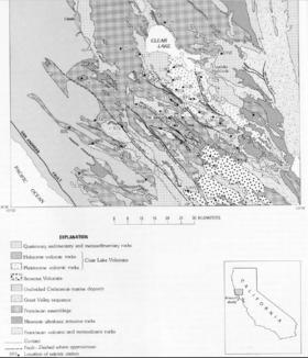 Clear Lake Volcanic Field - Wikipedia on