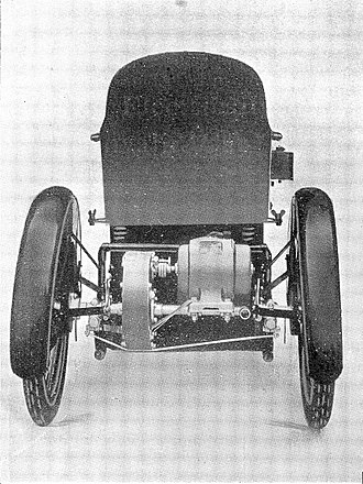 Invalid carriage - Image: The Harding Electrically propelled invalid chair. Wellcome L0010211