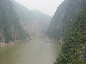 Wushan County, Chongqing - The Little Three Gorges along Daning river in Wushan, Chongqing