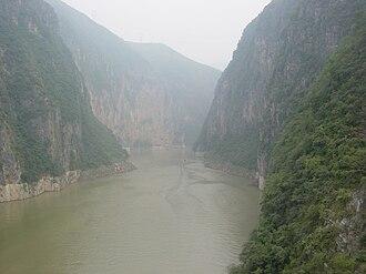 Wushan County, Chongqing - The Little Three Gorges along Daning river in Wushan, Chongqing