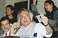 The Minister of State (Independent Charge) for Environment and Forests, Shri Jairam Ramesh attending Public Consultations on Bt-Brinjal, at the Bose Institute, in Kolkata on January 13, 2010.jpg