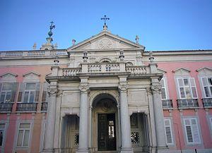 Necessidades Palace - The Palace of Necessidades.