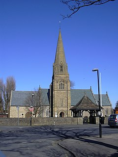 St Nicholas Church, Wrea Green Church in Lancashire, England