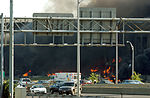 The Pentagon in flames moments after a hijacked jetliner crashed into building at approximately 0930 on September 11, 2001 010911-M-CI426-012.jpg