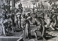 The Phillip Medhurst Picture Torah 125. Rebekah at the well. Genesis cap 24 vv 17-18. Vos.jpg