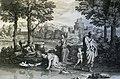 The Phillip Medhurst Picture Torah 282. Moses in the bulrushes. Exodus cap 2 v 3. Poussin.jpg