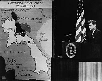 President Kennedy's news conference of 23 March 1961 The President's News Conference, 23 March 1961.jpg