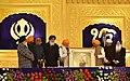 The Prime Minister, Shri Narendra Modi at the 350th Prakash Parv celebrations of Guru Gobind Singh Ji, in Patna, Bihar (1).jpg