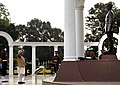 The Prime Minister, Shri Narendra Modi paying homage at the War Memorial in Indian Military Academy, Dehradun, ahead of the Combined Commanders Conference, on January 21, 2017.jpg
