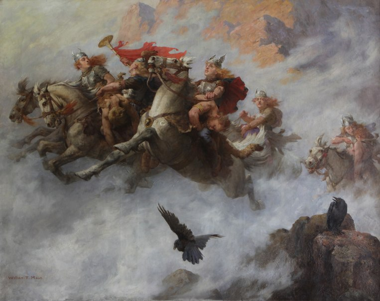 File:The Ride of the Valkyries by William T. Maud.jpg