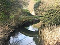The Roman Bridge over the Clyne River at Blackpill, Swansea - geograph.org.uk - 275156.jpg
