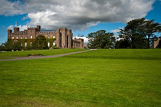 Clan Murray - Scone Palace, seat of the Murrays of Scone, Viscounts of Stormont.