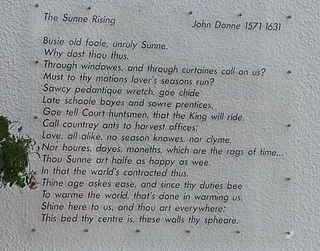<i>The Sun Rising</i> (poem) The Sunne Rising by John Donne