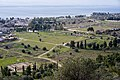 The Theatre of Eretria and the Gymnasium from the Acropolis on January 16, 2020.jpg
