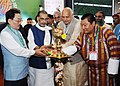 The Union Minister for Agriculture and Farmers Welfare, Shri Radha Mohan Singh lighting the lamp to inaugurate the 19th Organic World Congress 2017, at Greater Noida, Uttar Pradesh.jpg