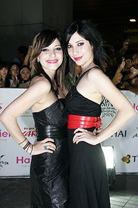 The Veronicas MTV Asia Awards 2006.jpg