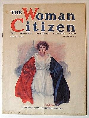 Woman's Journal - The Woman Citizen, December 4, 1920