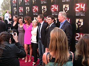 24 (TV series) - Image: The cast of 24 2009