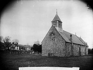 The church, Trefeglwys