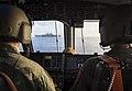 The crew of Landing Craft approaches USS Bonhomme Richard. (37182868221).jpg