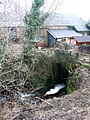 The former woollen mill and stream culvert - geograph.org.uk - 1146598.jpg