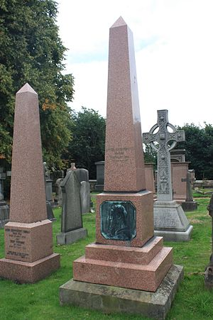 Robert William Thomson - The grave of Robert William Thomson, Dean Cemetery