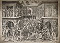 The martyrdom of Saint Laurence. Etching by C. Losi, 1774, a Wellcome V0032517.jpg