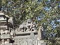 The royal Hoysala emblem on sukanasi of temple in Rameshvara temple at Koodli.jpg