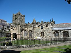 The south facade of St Cybi's Church - geograph.org.uk - 742776.jpg
