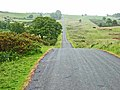 The switchback road along the Mynydd Illtud - geograph.org.uk - 190452.jpg