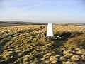 The trig point on Heddon Hill - geograph.org.uk - 327383.jpg