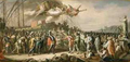 The triumph of Lamba Doria in the Battle of Curzola by Fedele Fischetti.png
