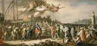 Battle of Curzola - The Triumph of Lamba Doria