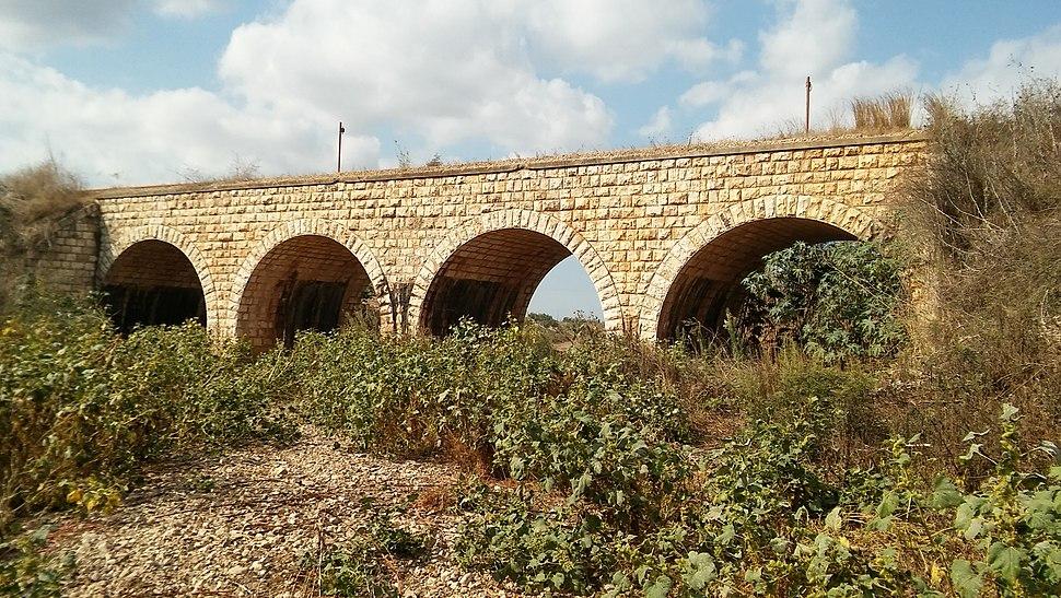 The west railway - bridge over Kana stream near Elishema 1