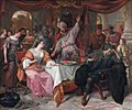The wrath of Ahasuerus, by Jan Steen.jpg