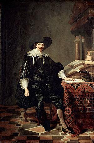 Thomas de Keyser - Portret van een man